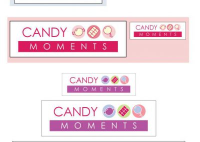 Logo Design – Candy Moments