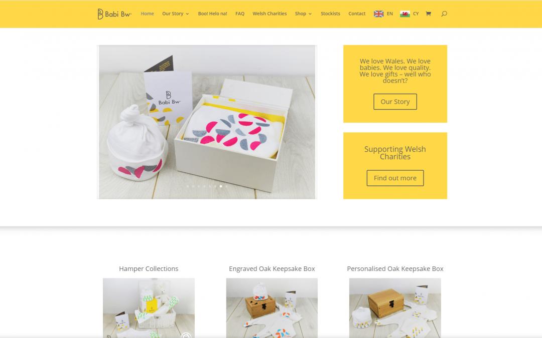 Ecommerce Website design – Babi Bw