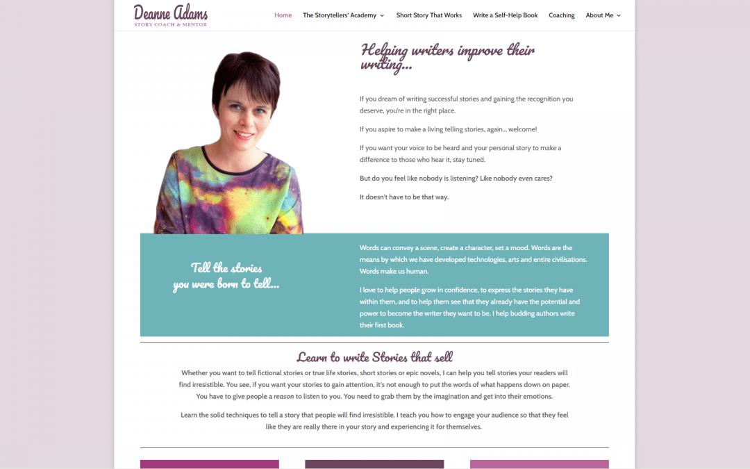 Website design – Deanne Adams