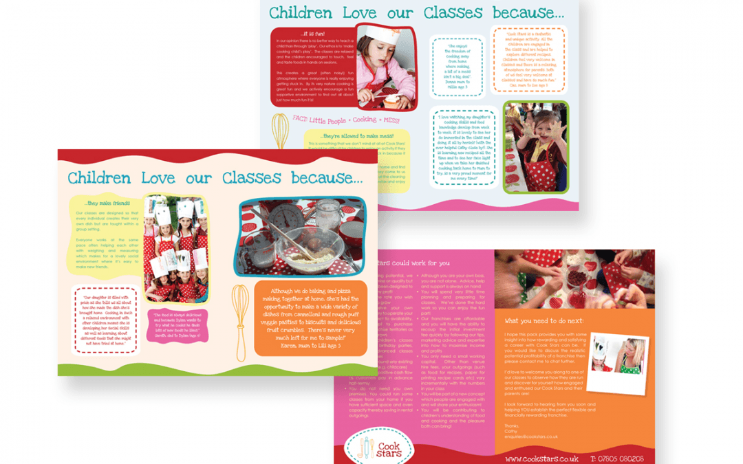 Brochure design – Cook Stars