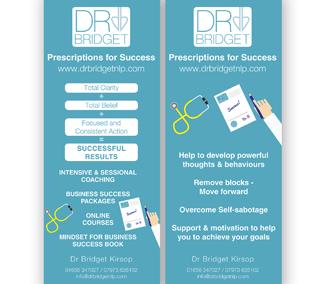 Roller Banner set – Dr Bridget